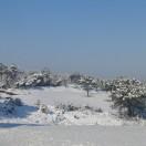 Le trou n°2 sous la neige en février 2012